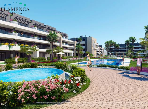 Apartment - New Build - Playa Flamenca - Res. Flamenca Village