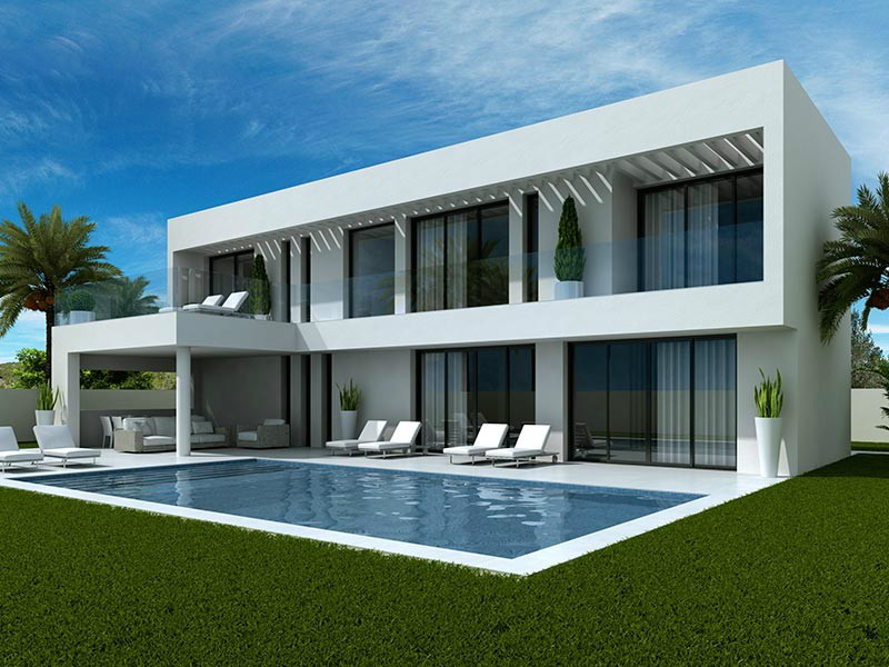 ​Buy A New Modern Villa In La Marina Costa Blanca South