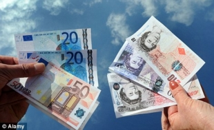Sterling Hits 1-Year High Versus Euro, as UK Unemployment Falls by Peter Lavelle