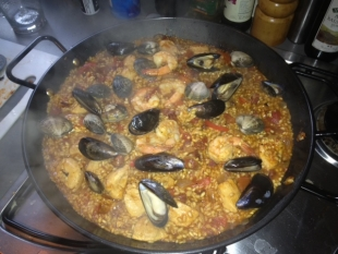 ES Property For Sale In Spain Team Paella Cook Off!
