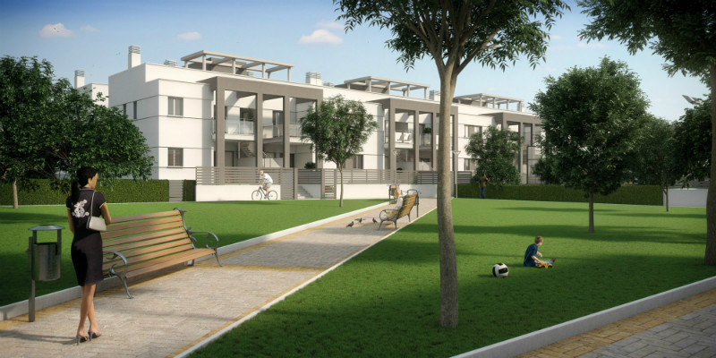 Koop een nieuw appartement in Torrevieja, Alicante.