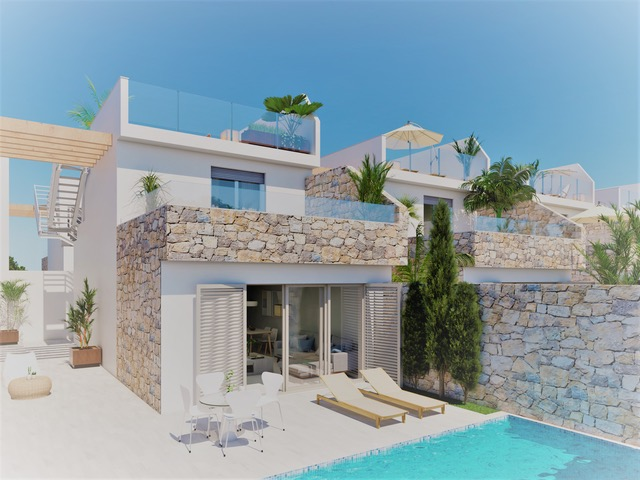 JUST LAUNCHED – STUNNING NEW MODERN VILLAS FOR SALE IN LOS ALCAZARES - FROM ONLY €205,000