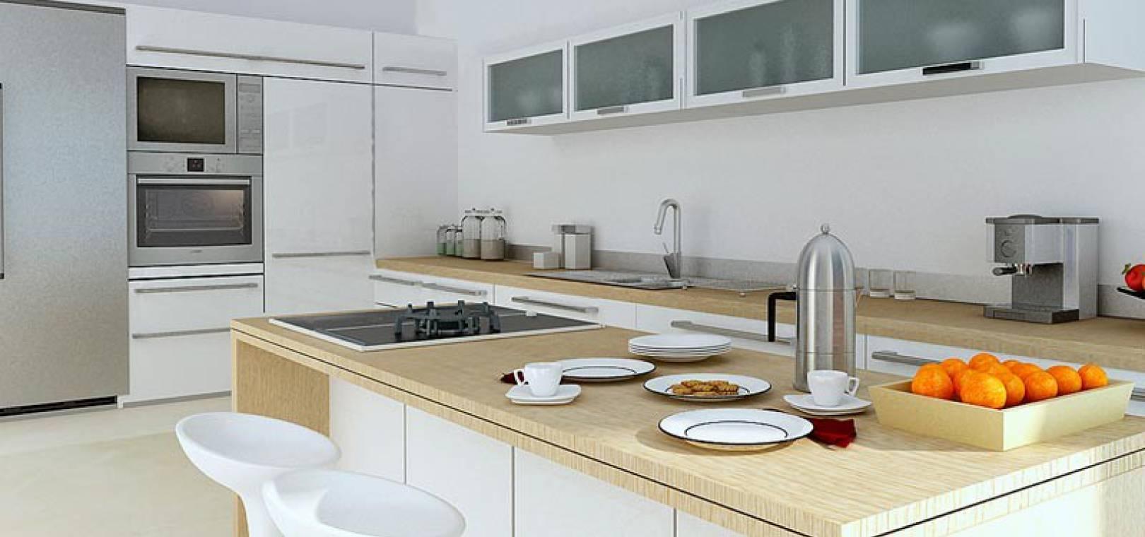 to buy,villas,modern,guardamar hills,guardamar,costa,blanca,op16-kitchen