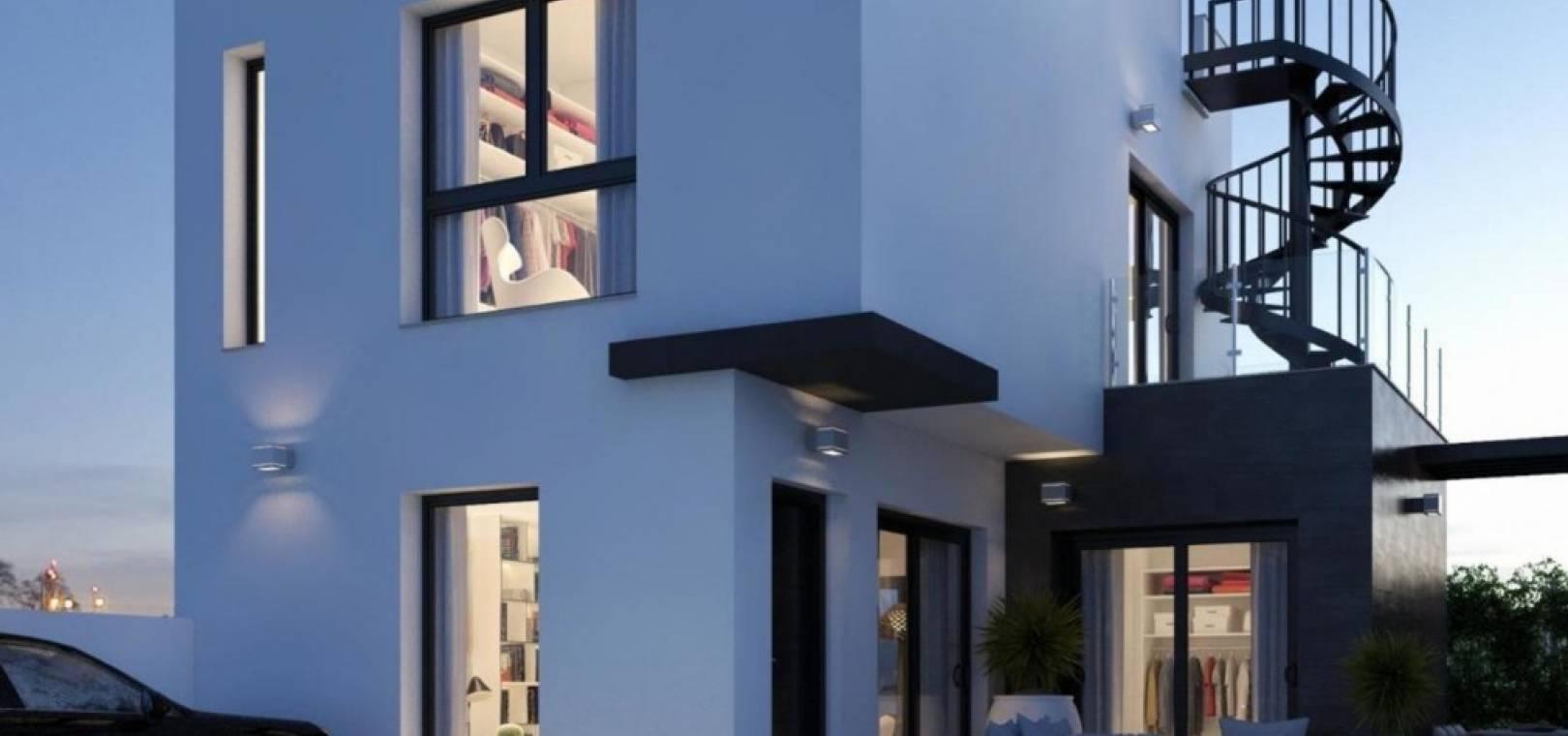 Nybyggnad - Villa - Villamartin