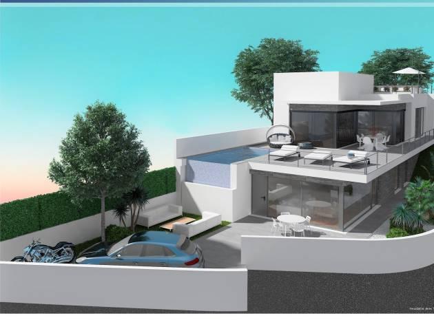 Nieuw gebouw - Villa - San Miguel de Salinas