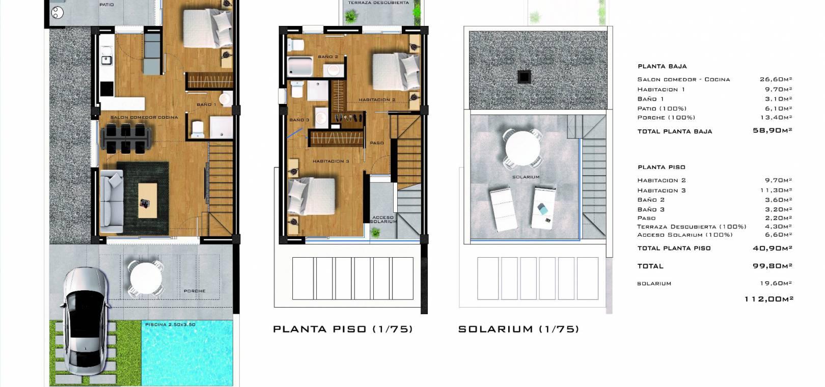 Nybyggnad - Radhus - Villamartin