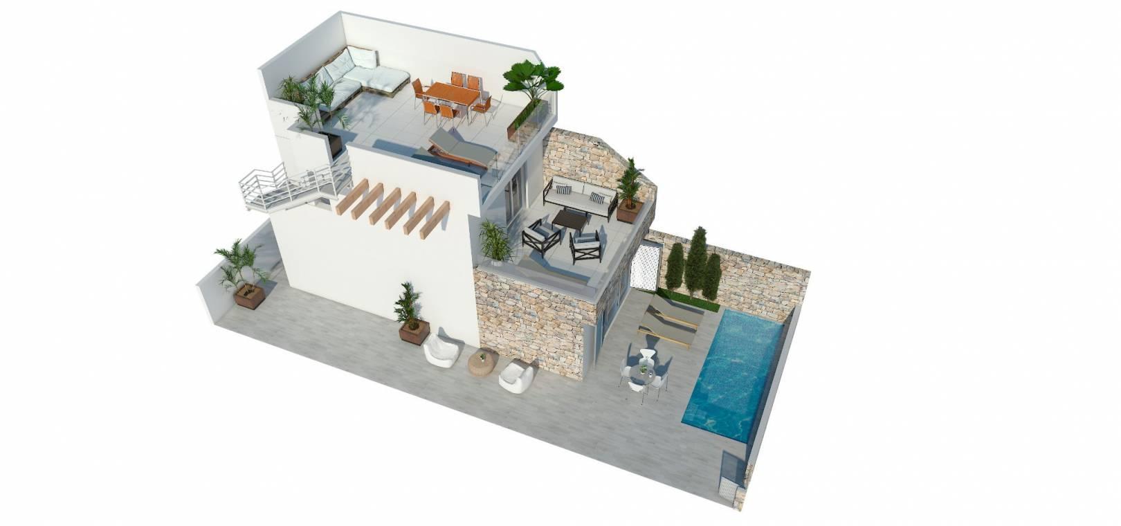 Nybyggnad - Villa - Los Alcazares