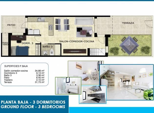 Nieuw gebouw - Herenhuis - Villamartin
