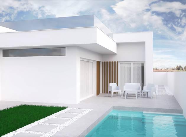 Villa - Nouvelle construction - Santiago de la Ribera - Santiago de la Ribera
