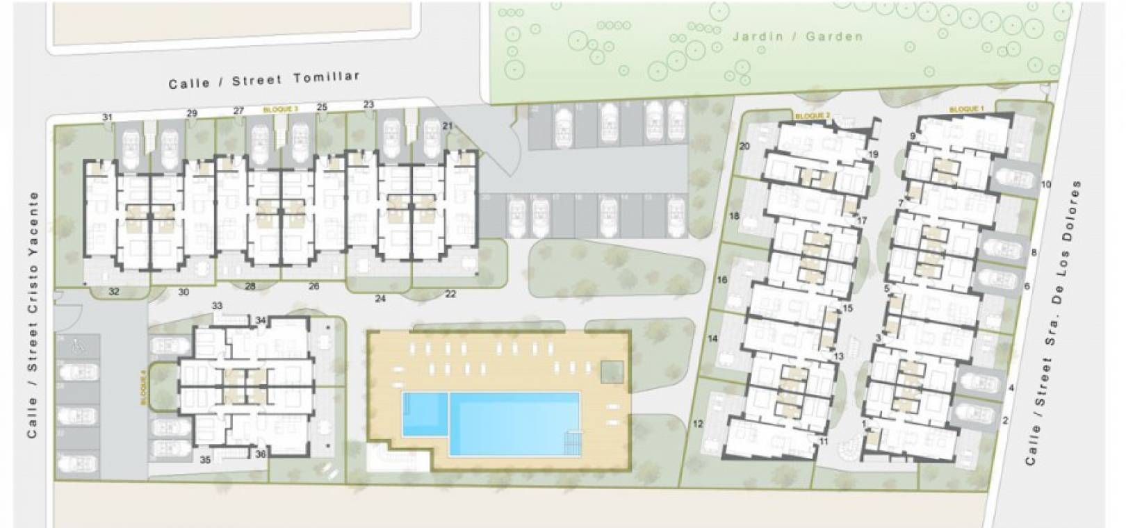 New Build - Apartment - Pilar de la Horadada