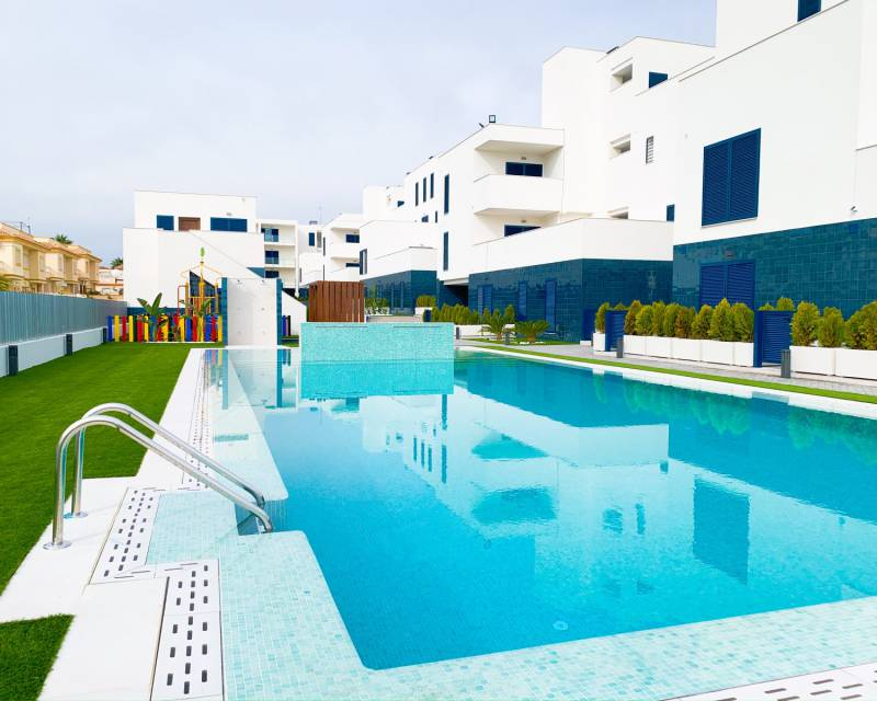 Lägenhet - Nybyggnad - Playa Flamenca - Res. Turquesa del Mar