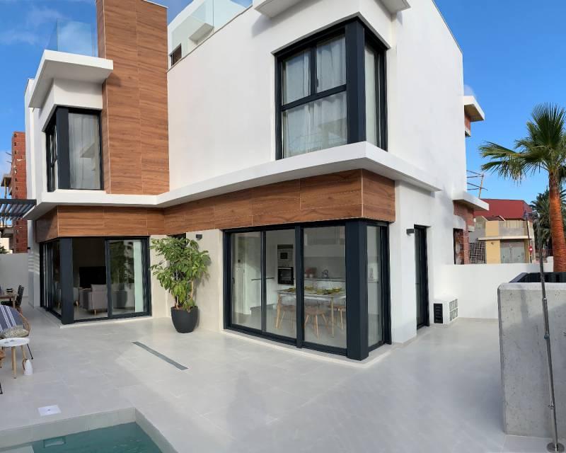 Quad House - New Build - Santiago de la Ribera - Villas Barnuevo