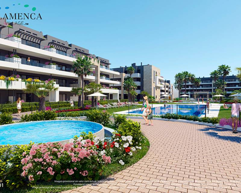 Lägenhet - Nybyggnad - Playa Flamenca - Res. Flamenca Village