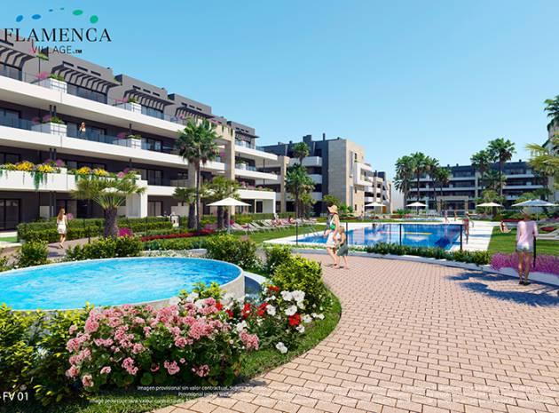 Apartment - New Build - Playa Flamenca - Res. Flamenca Village