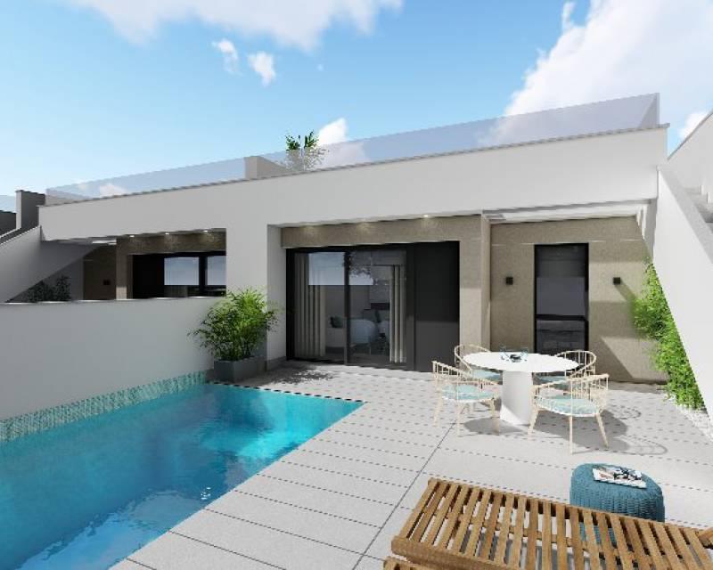 Bungalow - Nybyggnad - Pilar de la Horadada - Res. Sun Golf Villas
