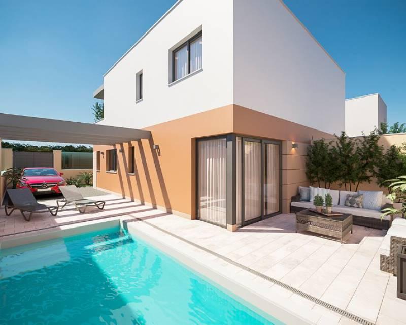 Half vrijstaand huis - Nieuw gebouw - San Pedro del Pinatar - Res. Abedul 2.0