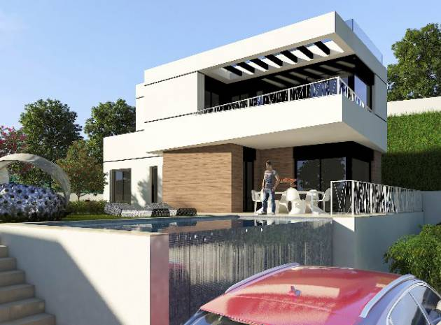 Villa - Nieuw gebouw - Finestrat - Balcones de Finestrat