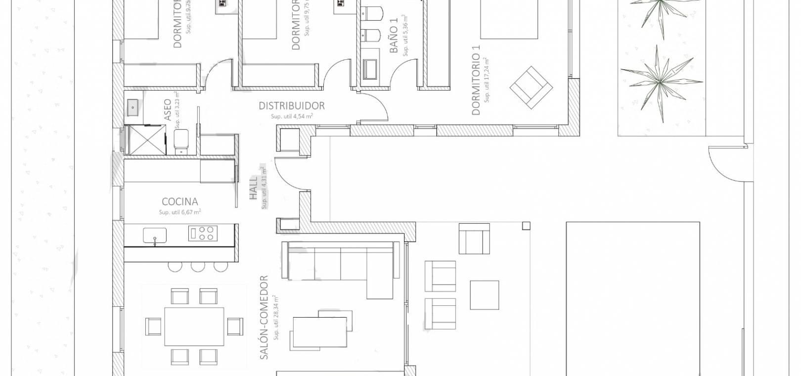 New Build - Villa - Fortuna - Balneario De Fortuna
