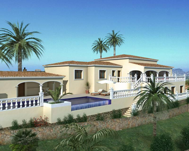 Villa - Nybyggnad - Benitachell - Cumbre del Sol