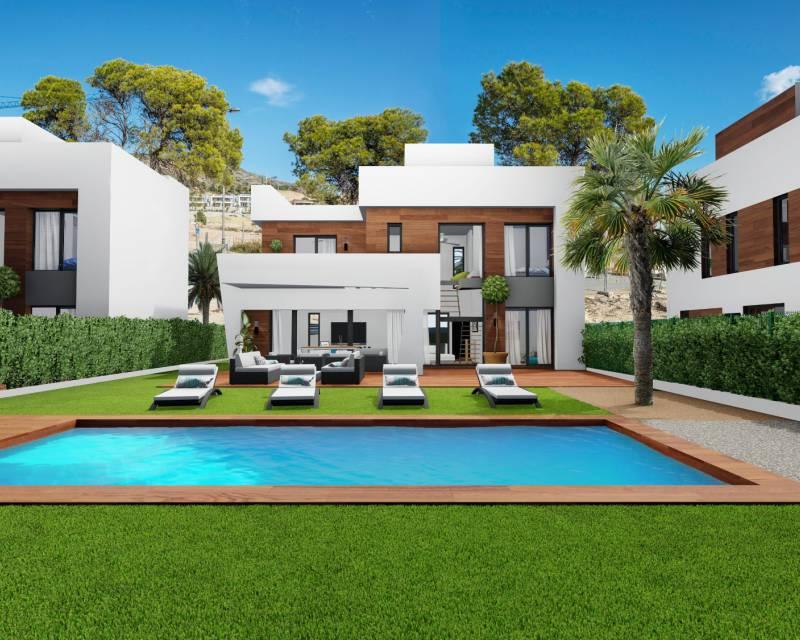 Villa - Neubau - Finestrat - Campana Garden