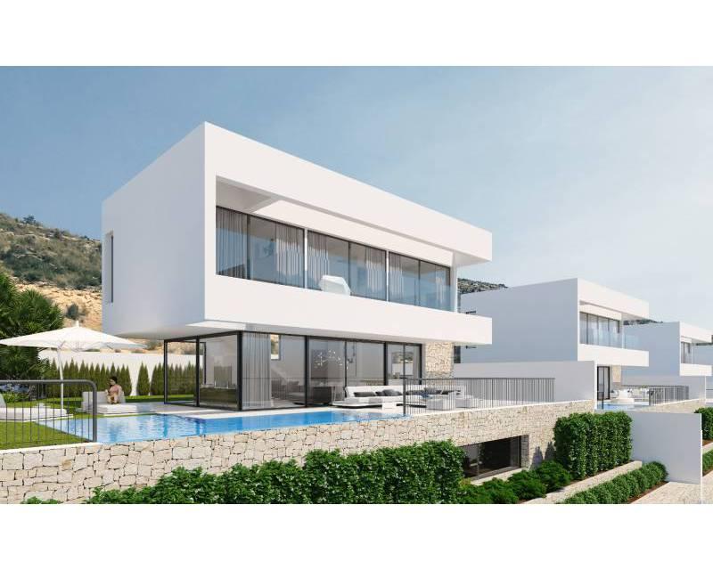 Villa - Nieuw gebouw - Finestrat - Sierra Cortina