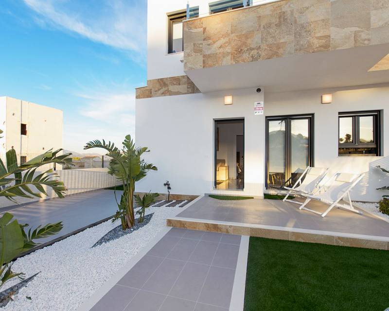 Doppelhaushälfte - Neubau - Polop - Altos de Polop