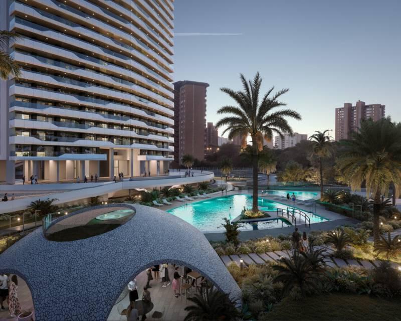 Appartement - Nouvelle construction - Benidorm - Res. Benidorm Beach