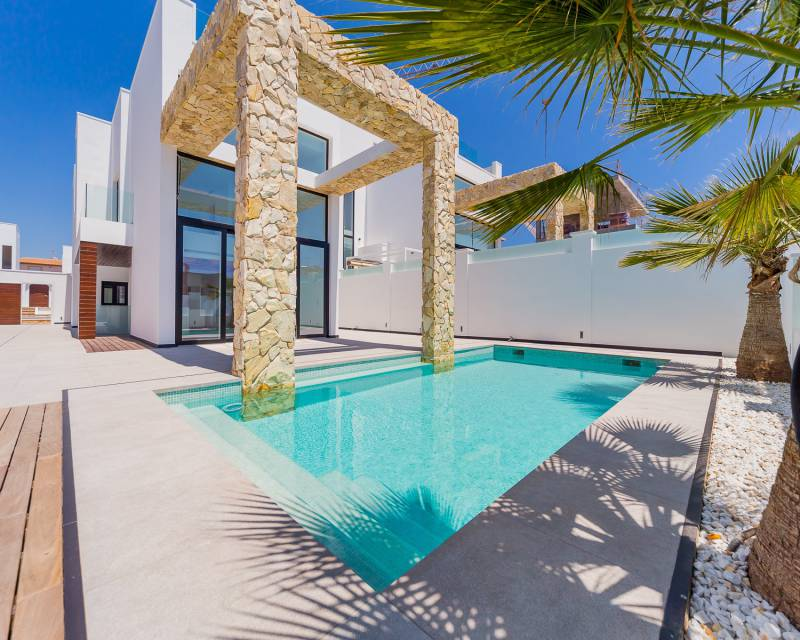 Villa - Nybyggnad - Torrevieja - Costa Blanca South