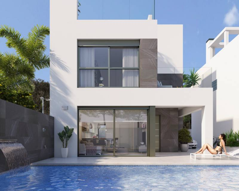 Villa - Nieuw gebouw - Punta Prima - Costa Blanca South