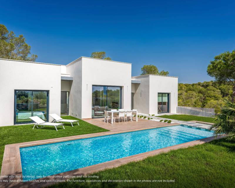 Villa - Nybyggnad - Las Colinas Golf and Country Club - Costa Blanca South
