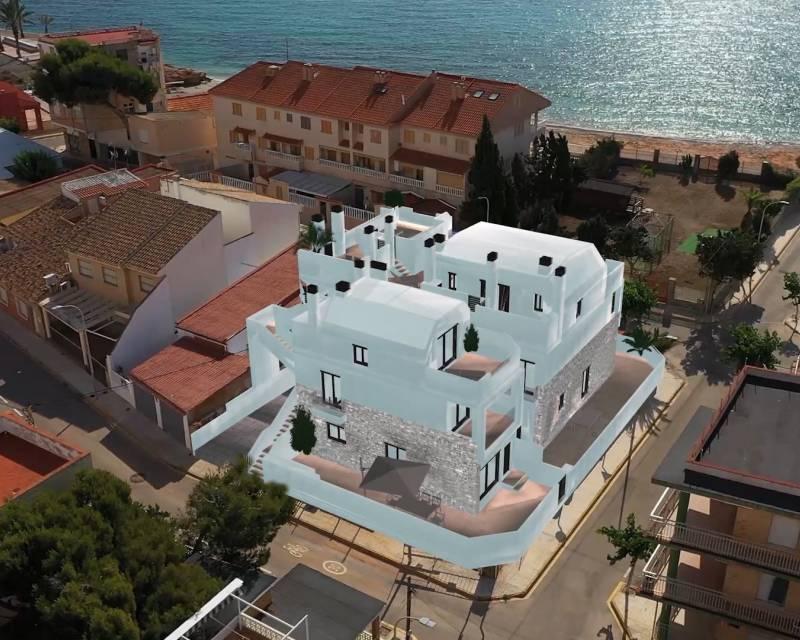 Radhus - Nybyggnad - Torre de la Horadada - Costa Blanca South
