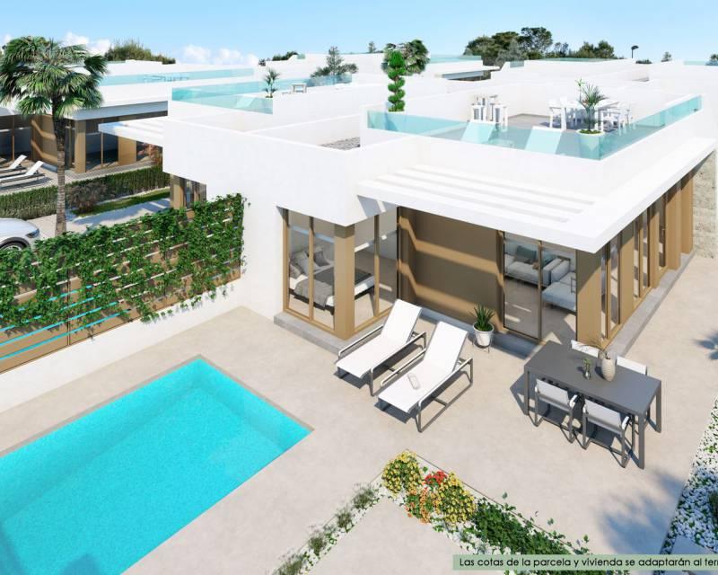 Parhus - Nybyggnad - Los Montesinos - Vistabella Golf