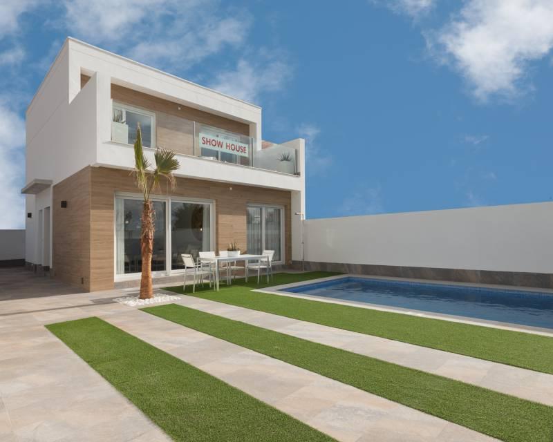 Villa - Nybyggnad - Pilar de la Horadada - Res. Palmeras Sun