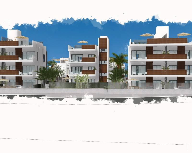 Apartment - New Build - Santiago de la Ribera - Villas Barnuevo