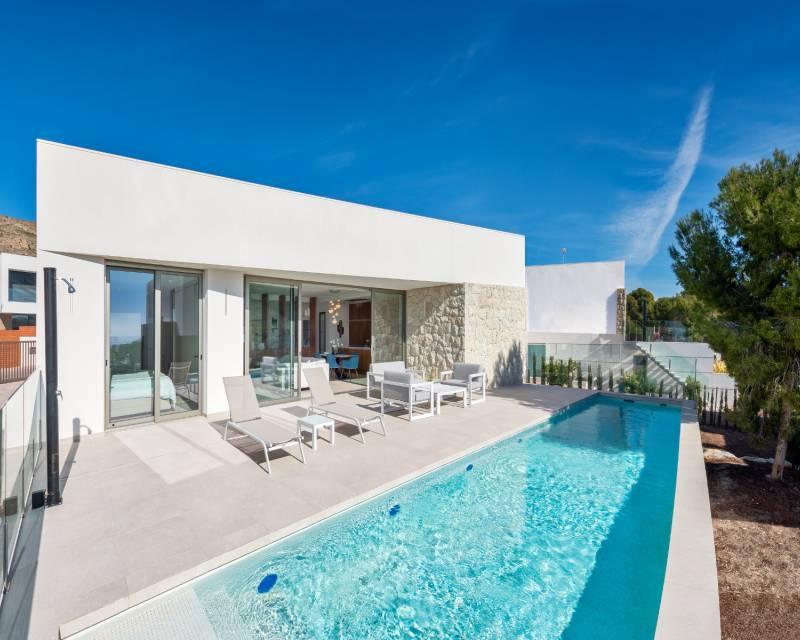Villa - Nybyggnad - Benidorm - Costa Blanca North
