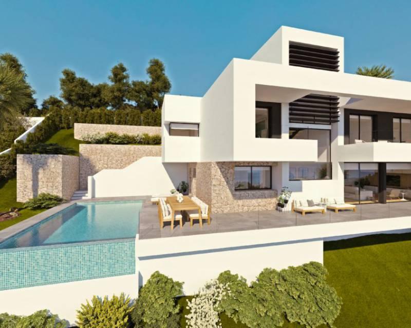 Villa - Nybyggnad - Altea - Urbanizaciones