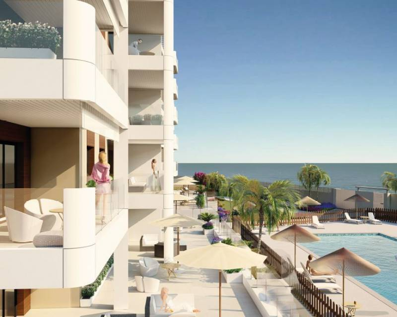 Lägenhet - Nybyggnad - Mil Palmeras - Costa Blanca South