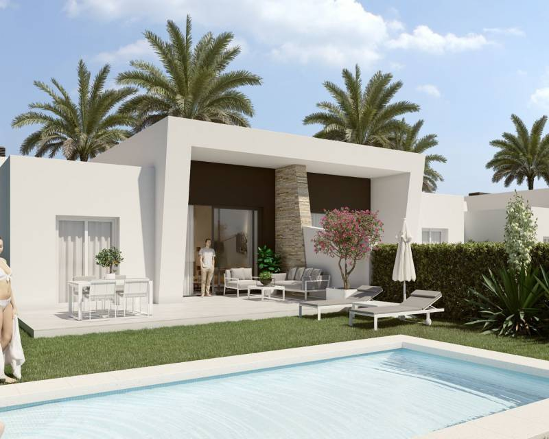 Villa - Nybyggnad - La Finca Golf Resort - Costa Blanca South