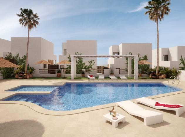 Villas ILIOS Villamartin For Sale communal swimming pool