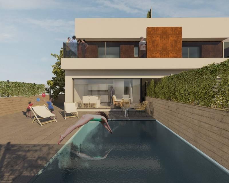 Villa - Nybyggnad - Torre de la Horadada - Costa Blanca South