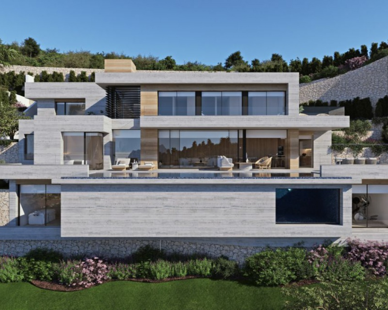Villa - Nouvelle construction - Benissa - Benissa - Costa