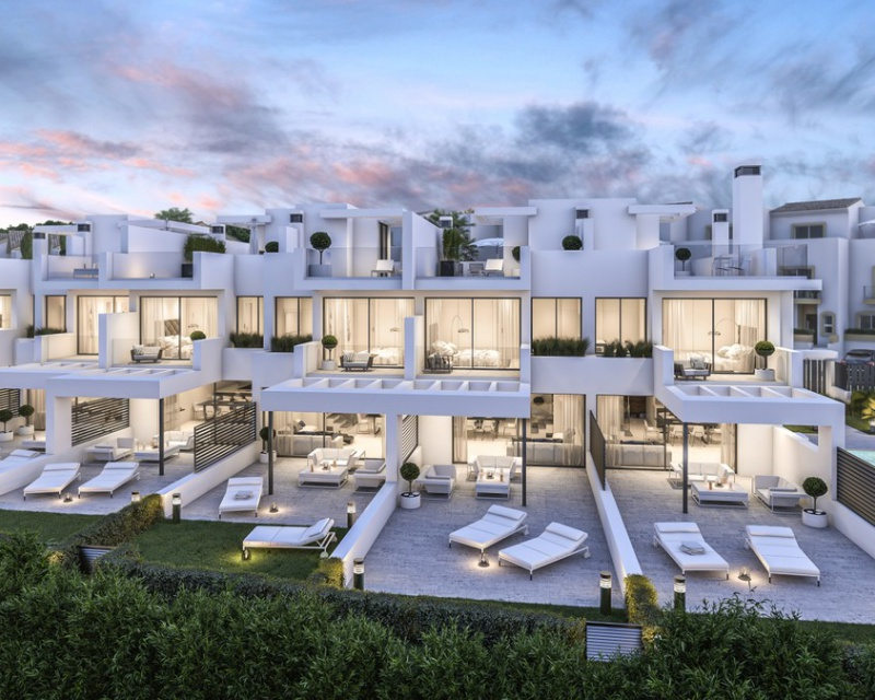 Villa - Nouvelle construction - Estepona - Estepona